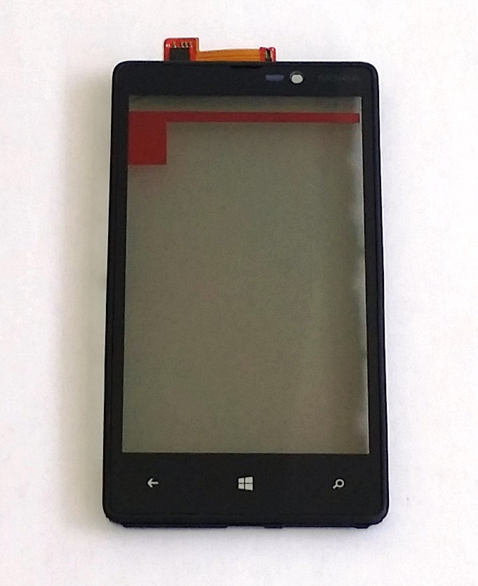 Nokia Lumia 820 Touch Screen Frame Kit Smontaggio 12 In 1